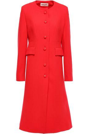 GOAT Hampton wool-crepe coat