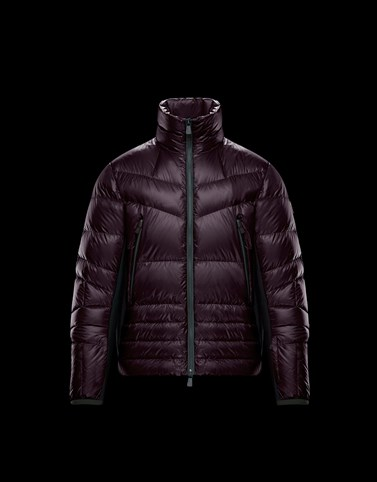 CANMORE Deep purple Down Jackets Man