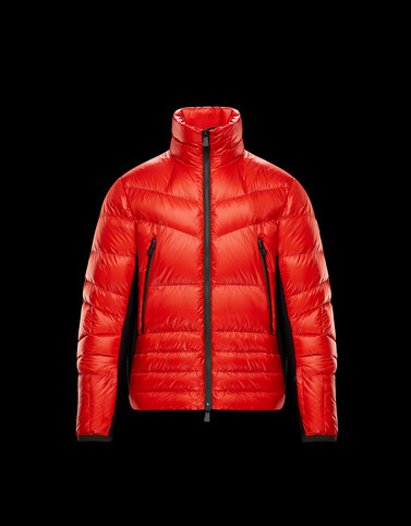 CANMORE Red Grenoble Jackets and Down Jackets Man