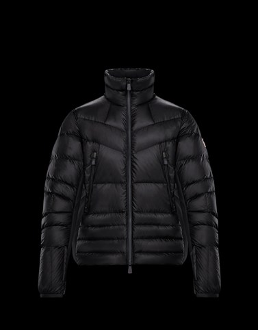CANMORE Black Down Jackets Man
