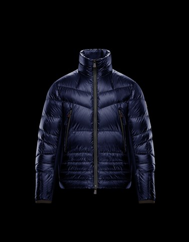 CANMORE Dark blue Grenoble Jackets and Down Jackets Man