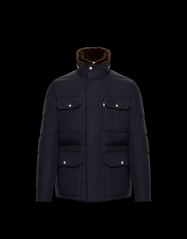 JEANMARC Dark blue Category Overcoats