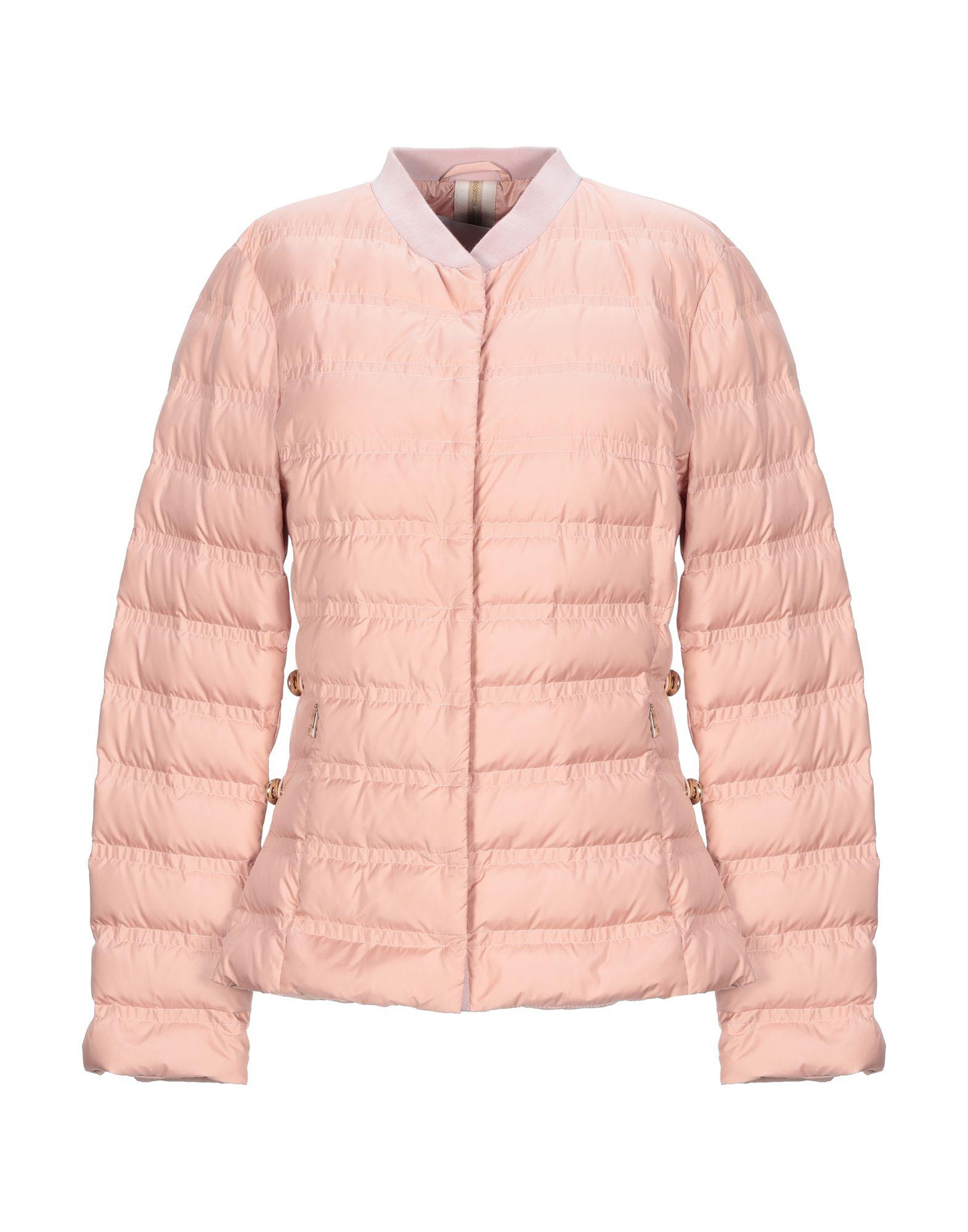 《セール開催中》VIOLANTI レディース 合成繊維中綿アウター ピンク 42 ポリエステル 100%