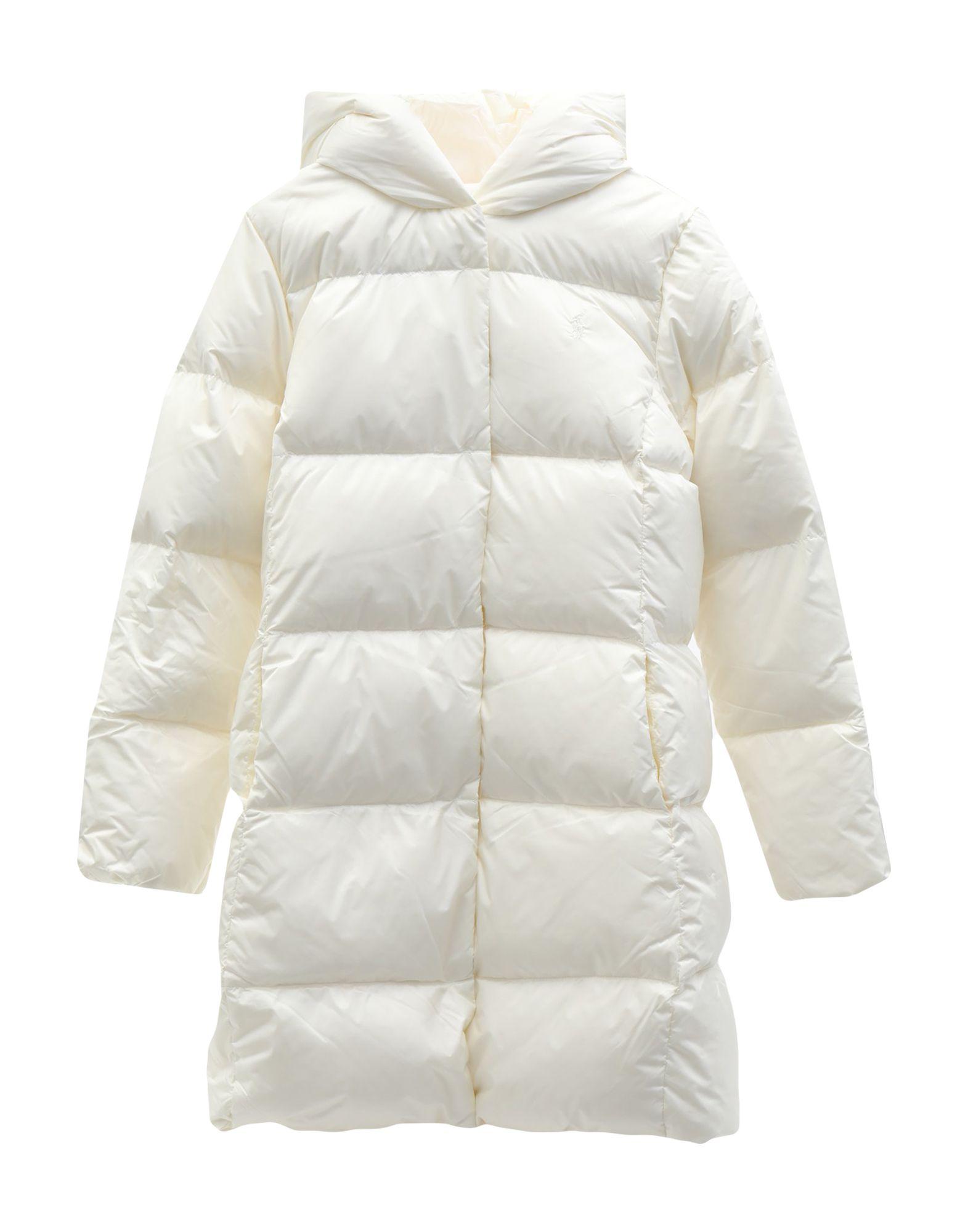 《セール開催中》RALPH LAUREN ガールズ 9-16 歳 ダウンジャケット ホワイト 12 ナイロン 100% Quilted Down Long Coat