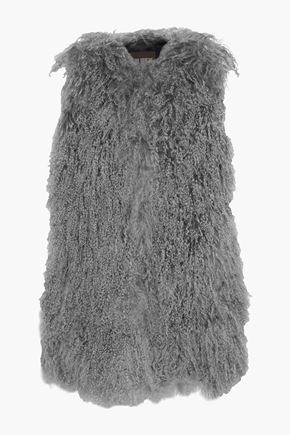 KARL DONOGHUE Oversized shearling vest