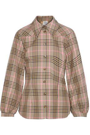 BAUM UND PFERDGARTEN Bonny checked woven shirt