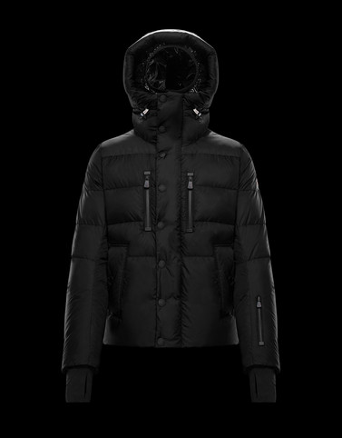RODENBERG Black Down Jackets Man