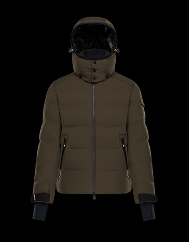 MONTGETECH Military green Down Jackets Man