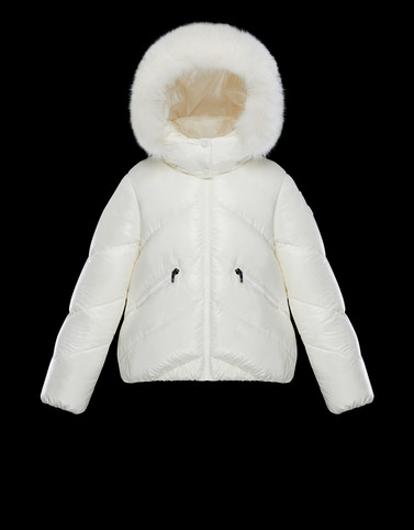 ANGLAIS White Category Parka Woman