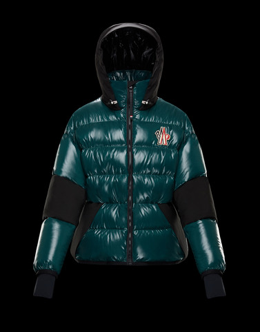 GOLLINGER Emerald green Down Jackets Man