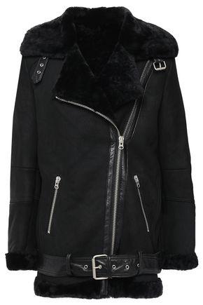 MUUBAA Darma belted shearling jacket