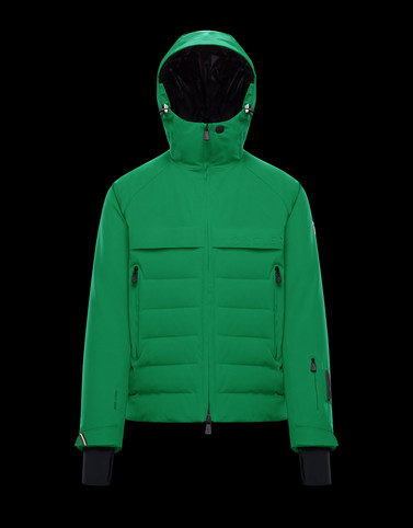 ACHENSEE Green Down Jackets Man