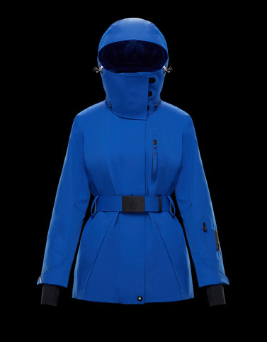 THIELLE Blue Category Overcoats Woman