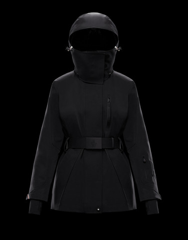 THIELLE Black Category Overcoats Woman