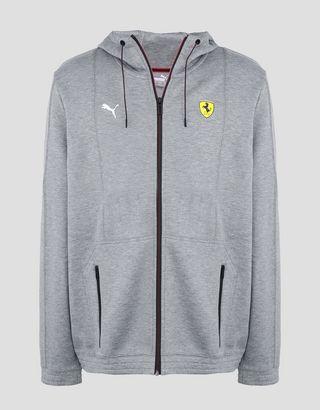 Scuderia Ferrari Online Store - Puma Scuderia Ferrari hooded sweatshirt - Zip Hood Sweaters