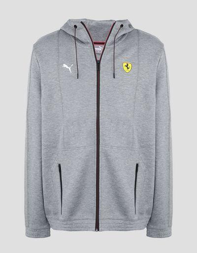 Scuderia Ferrari Online Store - 法拉利车队 Puma 连帽卫衣 - 拉链连帽套衫