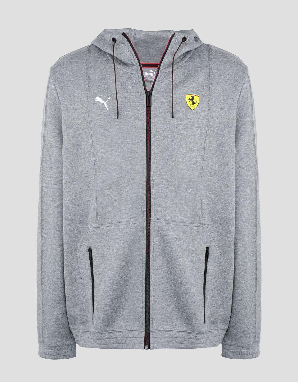 Scuderia Ferrari Online Store - Puma Scuderia Ferrari hooded sweatshirt - Bombers & Track Jackets