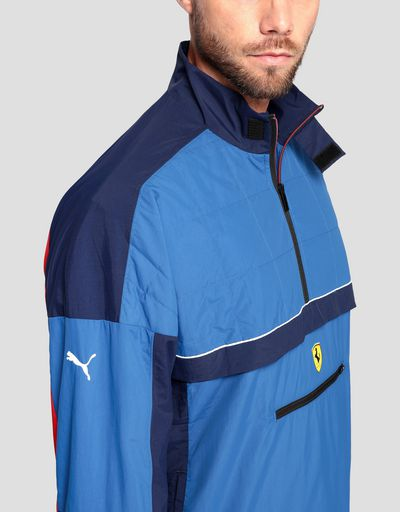 Puma Scuderia Ferrari men's jacket in perforated fabric