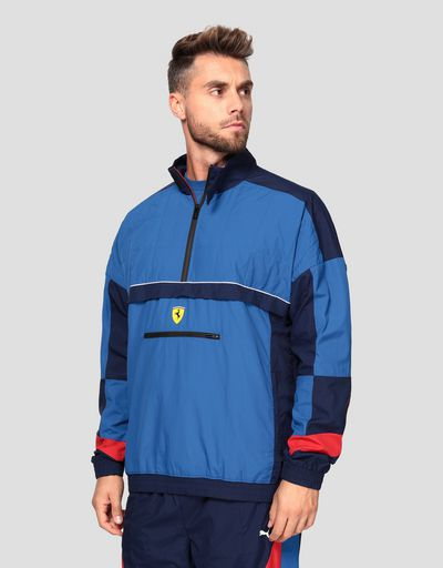 Puma Scuderia Ferrari Men's Jacket in a perforated fabric