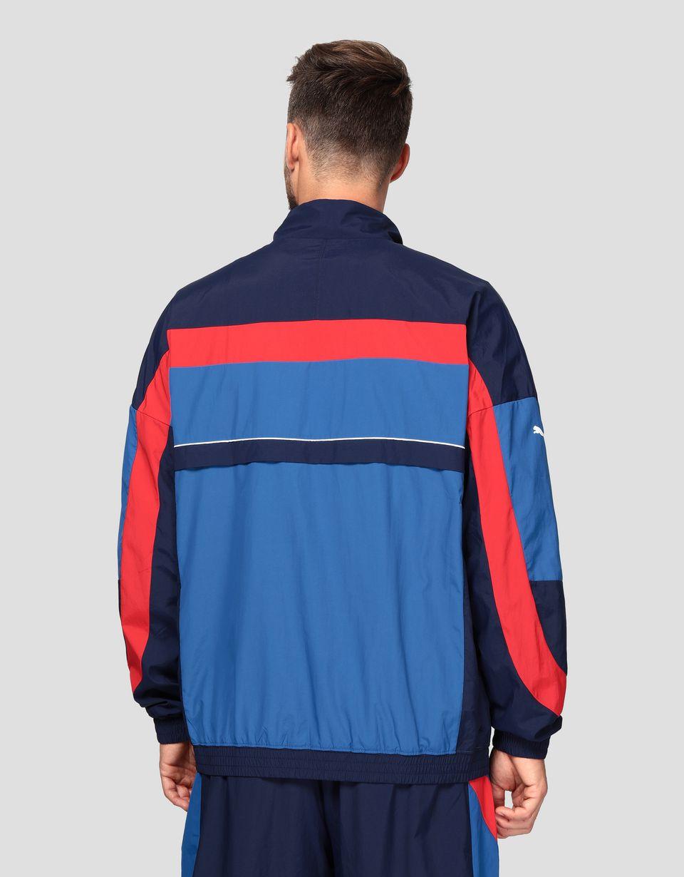 Scuderia Ferrari Online Store - Veste pour homme Puma Scuderia Ferrari en tissu ajouré - Bombers et vestes de sport