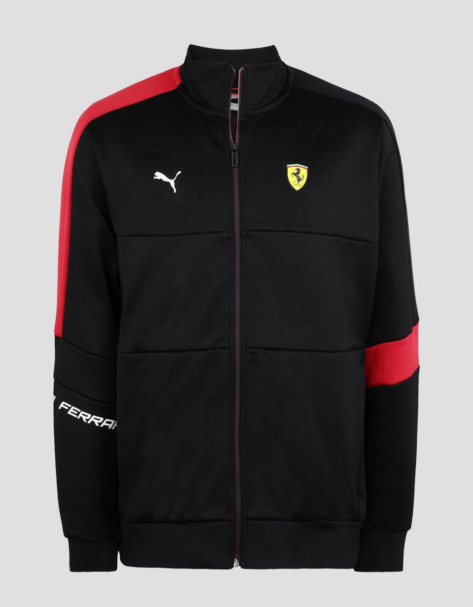 Scuderia Ferrari Online Store - Puma Scuderia Ferrari T7 Men's Jacket - Bombers & Track Jackets