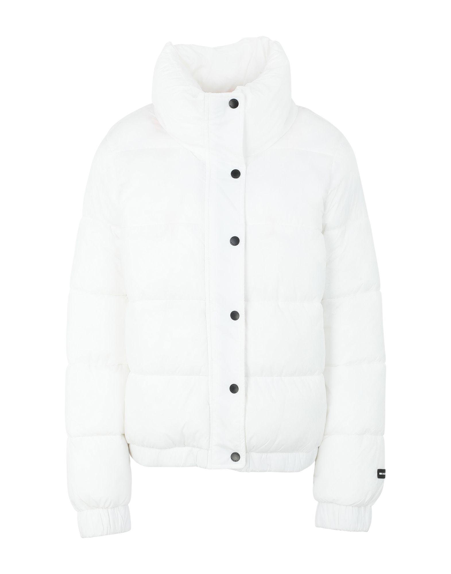 YOOX.COM(ユークス)《セール開催中》DKNY レディース 合成繊維中綿アウター ホワイト L ナイロン 100% LOGO PUFFER