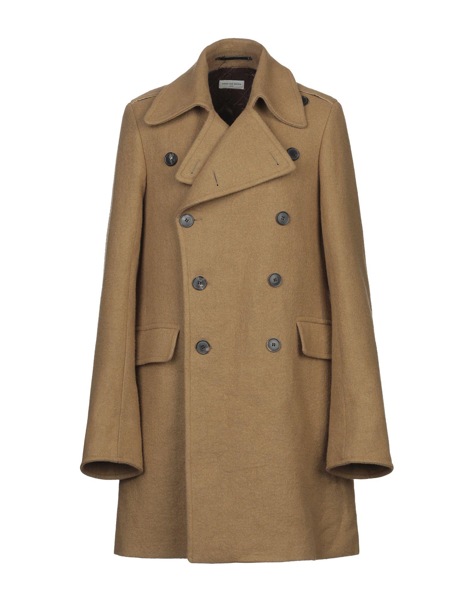 DRIES VAN NOTEN Пальто цены онлайн