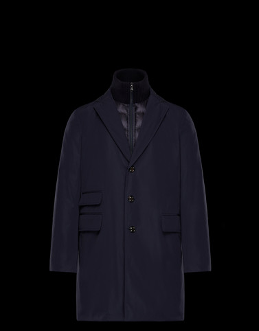 LESPA Dark blue Category Overcoats