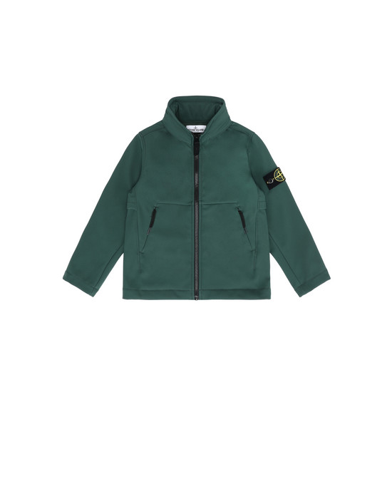 STONE ISLAND KIDS LIGHTWEIGHT JACKET Q0130 SOFT SHELL-R