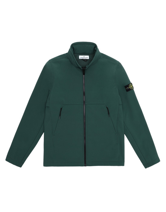 LIGHTWEIGHT JACKET Q0130 SOFT SHELL-R  STONE ISLAND JUNIOR - 0