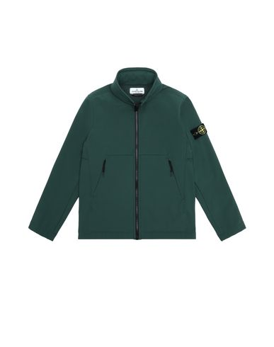 STONE ISLAND JUNIOR LIGHTWEIGHT JACKET Man Q0130 SOFT SHELL-R  f