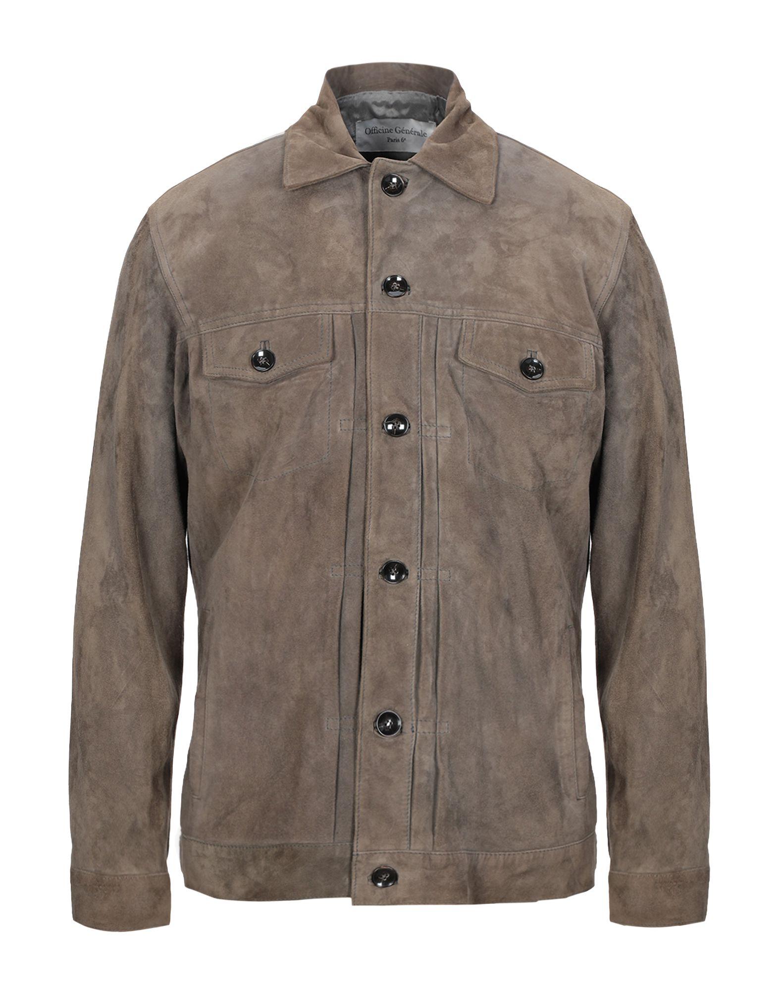 купить OFFICINE GÉNÉRALE Paris 6ᵉ Куртка по цене 63500 рублей