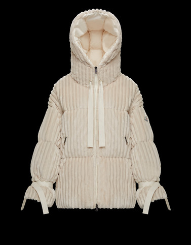 LOIRE Ivory Category Overcoats Woman