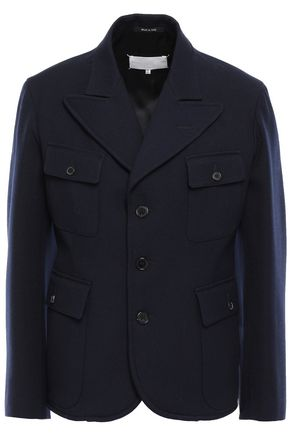 MAISON MARGIELA Pleated wool-gabardine jacket