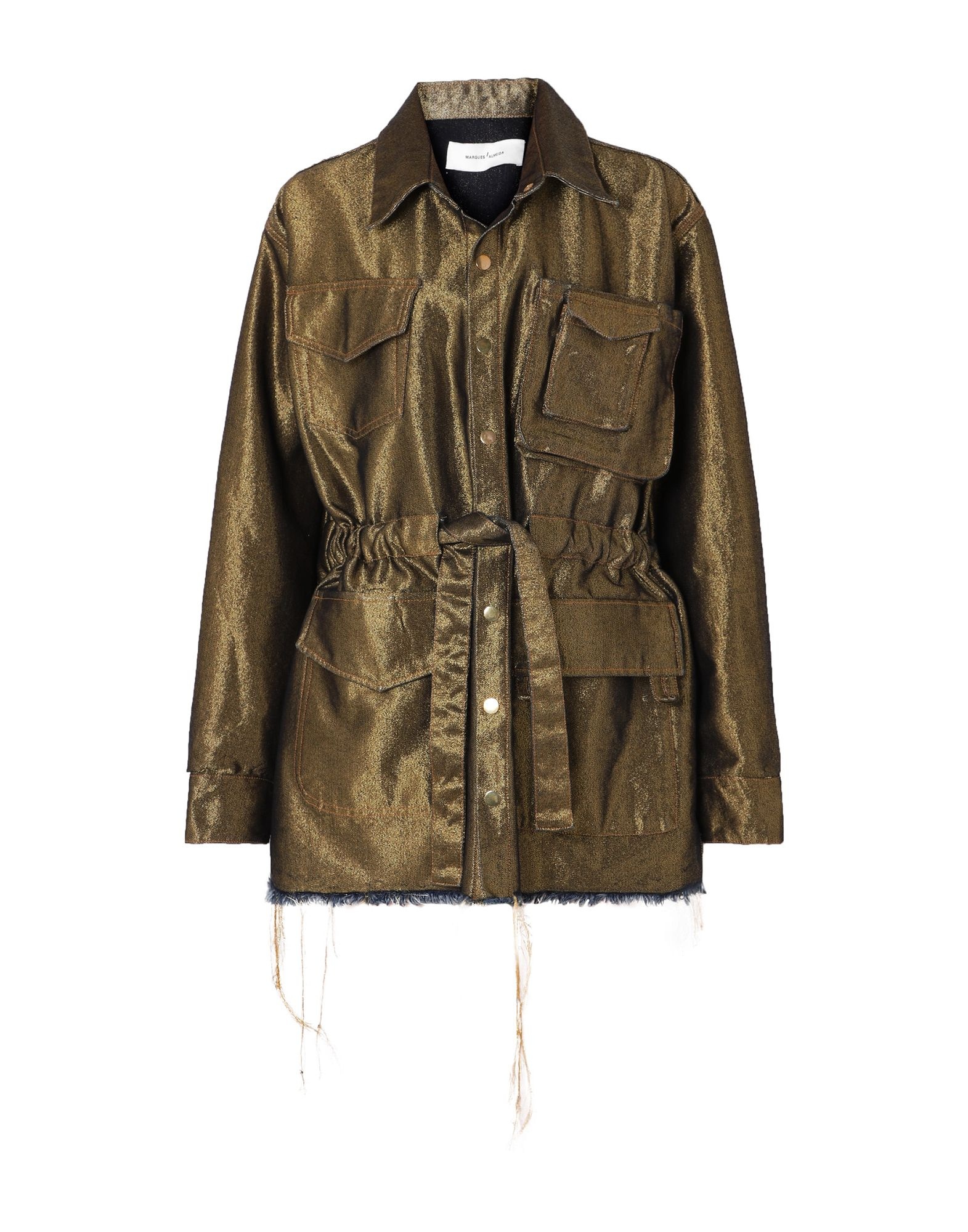 MARQUES' ALMEIDA Куртка marques almeida x yoox толстовка