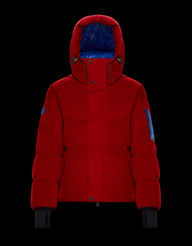 STULLER Red Down Jackets Man