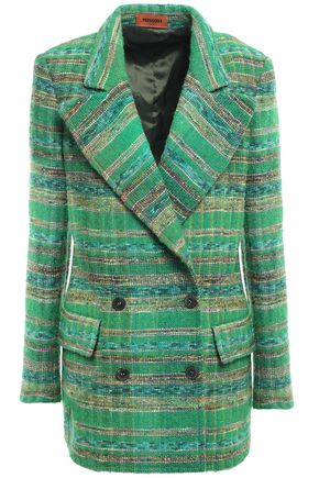 MISSONI Double-breasted tweed blazer