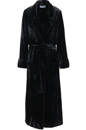 RACIL Grace belted velvet robe