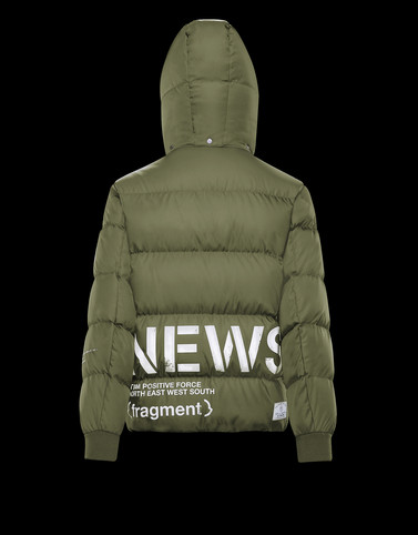 FALCON Military green Down Jackets Man