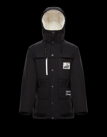 GLOSTER Black Jackets & Coats