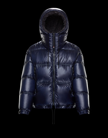 TOSS Dark blue Down Jackets