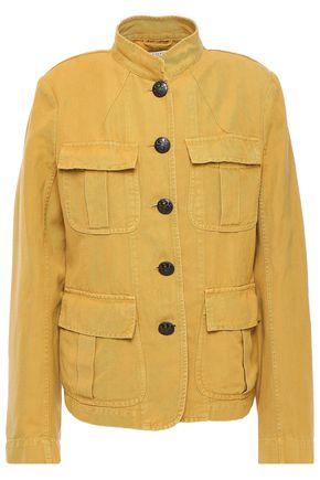 NILI LOTAN Cotton and linen-blend twill jacket