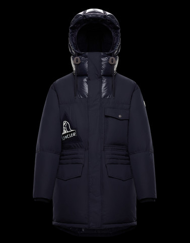 DEDION Dark blue Category Parka Man