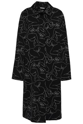 BY MALENE BIRGER Printed satin coat