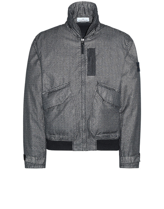 STONE ISLAND 43699 REFLECTIVE WEAVE RIPSTOP-TC Jacket Man Black