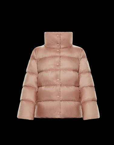 AUDE Pink Short Down Jackets