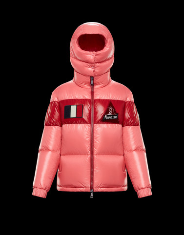 GARY Pink Short Down Jackets Woman
