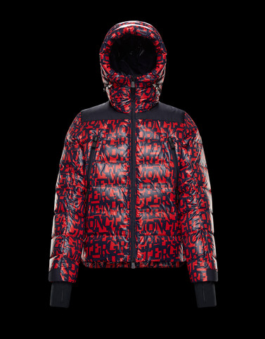 CAMURAC Red Down Jackets Man