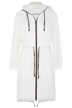 PACO RABANNE Hooded shell jacket