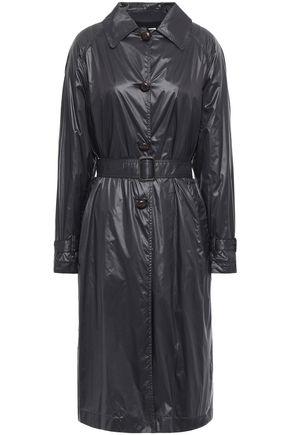 MASSCOB Wesel belted shell trench coat